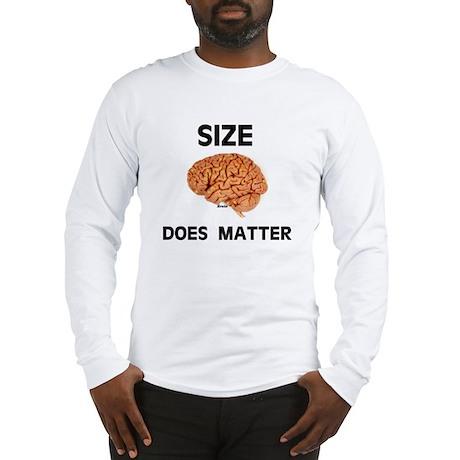 SIZE MATTERS Long Sleeve T-Shirt