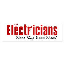 The Electricians Bada Bing Bumper Bumper Sticker