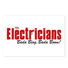 The Electricians Bada Bing Postcards (Package of 8