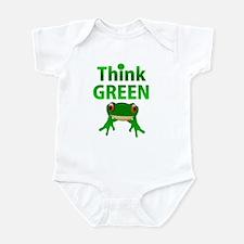 think green frog Infant Bodysuit