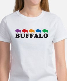 Colorful Buffalo Tee