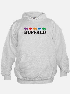 Colorful Buffalo Hoodie