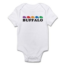 Colorful Buffalo Infant Bodysuit