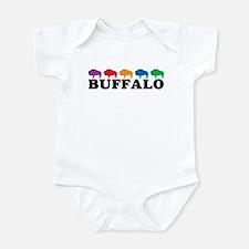 Colorful Buffalo Infant Bodysuit
