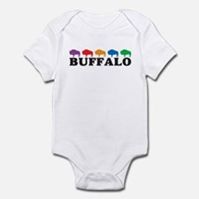 Colorful Buffalo Onesie