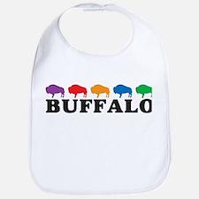 Colorful Buffalo Bib