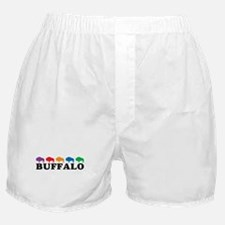 Colorful Buffalo Boxer Shorts