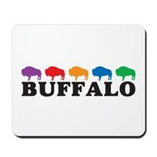 Colorful Buffalo Mousepad