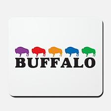 Colorful Buffalo Mousepad