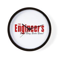 The Engineers Bada Bing Wall Clock