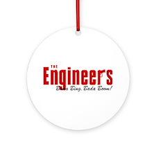 The Engineers Bada Bing Ornament (Round)