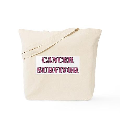 Pink Cancer Survivor Tote Bag