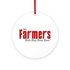 The Farmers Bada Bing Ornament (Round)