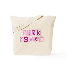 MK Pink Power Tote Bag