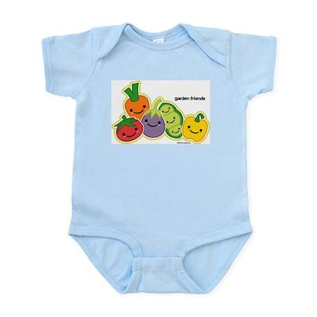 Garden Veggie Friends Infant Bodysuit