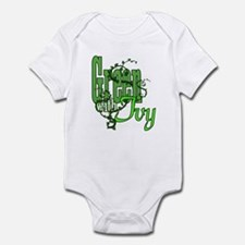 Green with Ivy! Infant Bodysuit