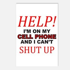 CELL PHONE Postcards (Package of 8)
