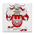 Munoz Family Crest Tile Coaster