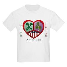 Irish Italian Love Kids T-Shirt