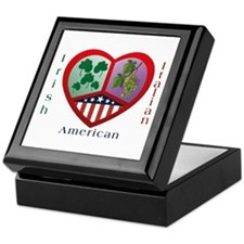 Irish Italian Love Keepsake Box