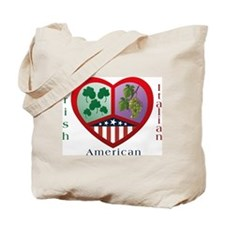 Irish Italian Love Tote Bag