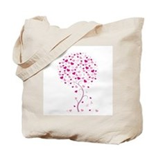 Tree of Hope - Breast Cancer Tote Bag