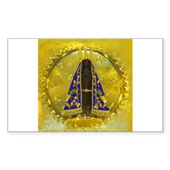 NOSSA SRA APARECIDA Rectangle Decal