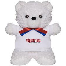 The Vegetarians Bada Bing Teddy Bear