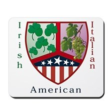 Irish Italian American Mousepad