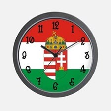 Hungary Flag Wall Clock