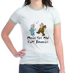 Old Fart Boogie Jr. Ringer T-Shirt