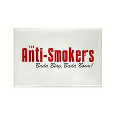 The Anti-Smokers Bada Bing Rectangle Magnet
