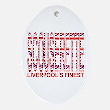 Scouserette Oval Ornament
