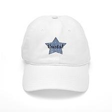 Cristal (blue star) Baseball Cap