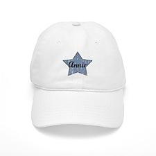 Annie (blue star) Baseball Cap