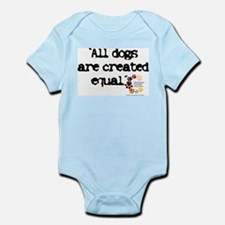All dogs equal Infant Creeper
