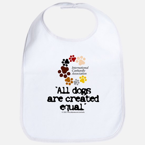 All dogs equal Bib