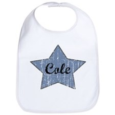 Cole (blue star) Bib