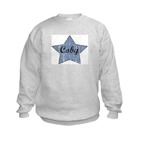 Coby (blue star) Kids Sweatshirt