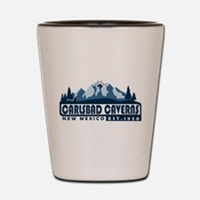 Carlsbad Caverns - New Mexico Shot Glass