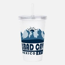Carlsbad Caverns - New Acrylic Double-wall Tumbler