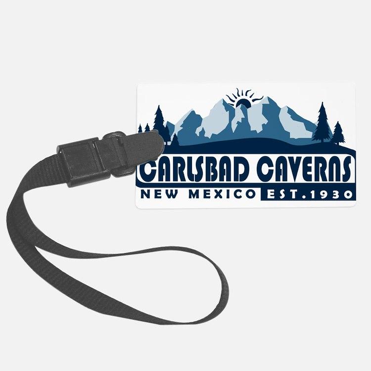 Carlsbad Caverns - New Mexico Luggage Tag