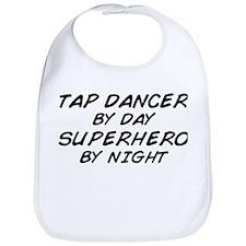 Tap Dancer Superhero by Night Bib