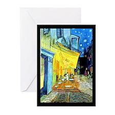 Van Gogh Cafe Terrace Greeting Cards (Pk of 20)