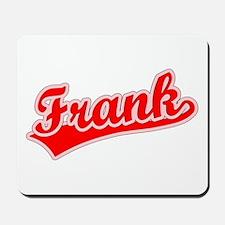 Retro Frank (Red) Mousepad