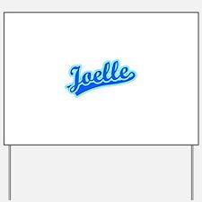 Retro Joelle (Blue) Yard Sign