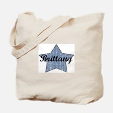 Brittany (blue star) Tote Bag