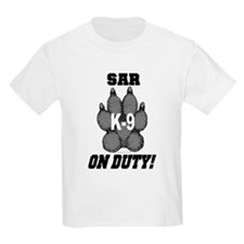 SAR K9 On Duty Kids T-Shirt