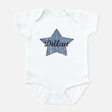 Dillan (blue star) Infant Bodysuit