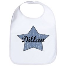 Dillan (blue star) Bib